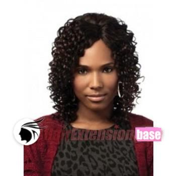 10 inch curly short african american hair wigs 1 jet black