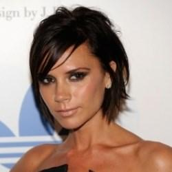 10 Inch Modern Short Black Straight Chic Wig Hairstyle For Women