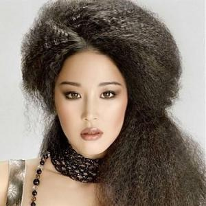 Hair Extensions 100% Human Hair Black Long Wavy Lace Front 20 Inch