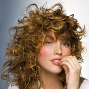 100% Human Hair Blonde Capless Curly Medium Wigs