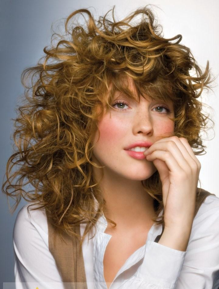100% Human Hair Blonde Capless Curly Medium Wigs - Hairplusbase.com