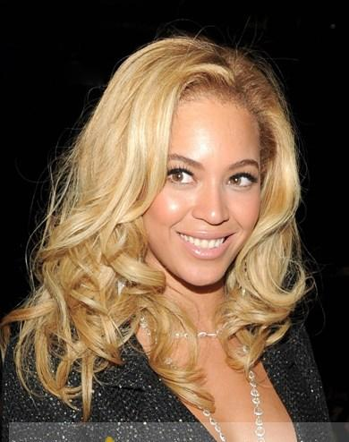 up to date hairstyles : Up To Date Medium Blonde Female Beyonce Knowles Wavy Celebrity Short ...