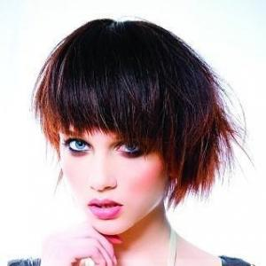 2014 New Short Straight Sepia 100% Indian Remy Hair Mysterious Wigs