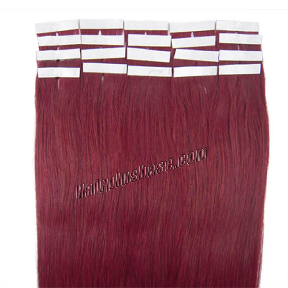 22 Inch Tape In Human Hair Extensions Remy Hair Review