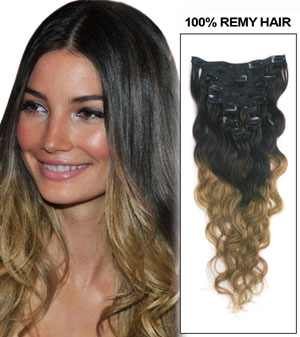 Ombre Hair Extensions Online India 9