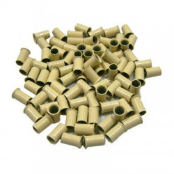 500pcs Copper Tubes Links Blonde for Hair Extensions