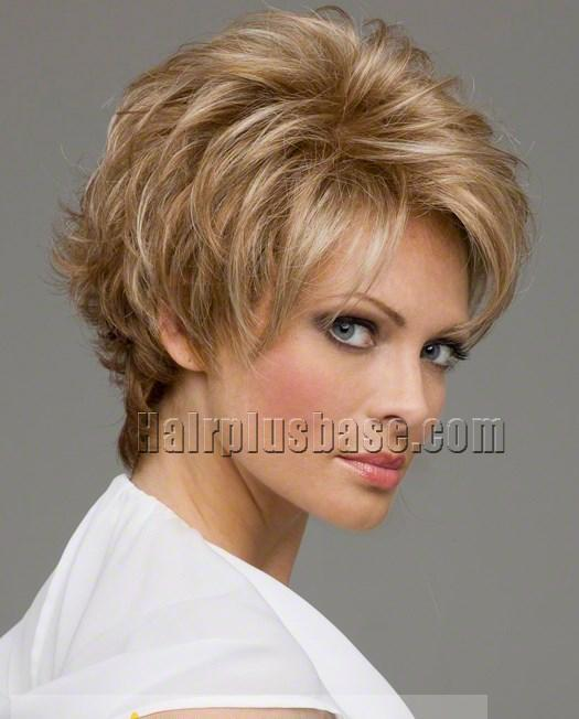 short curly lace front wigs short hairstyle 2013