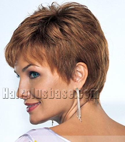 cute short wavy brown african american capless wigs for