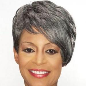... Inch Gorgeous Short Curly Gray African American Lace Wigs for Women