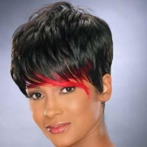 Inch Modern Short Curly Black African American Wigs For Women Inspired Braids On Favim