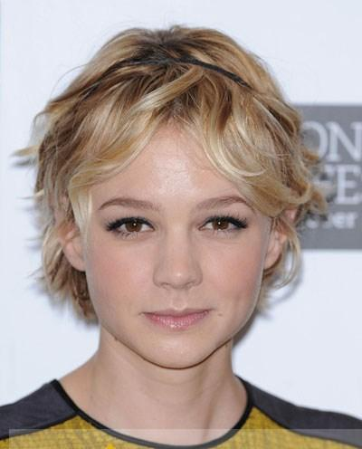 short wavy blonde african american lace wigs human hair