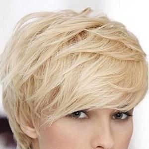 Brilliant Short Vivacious Human Hair Wig 103