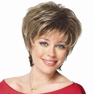 Fabulous Cheap Human Hair Gray Short Wigs