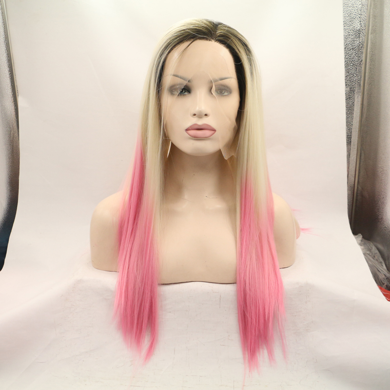 Hot Sales Ombre Straight Lace Front Wig