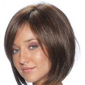 Hair Extensions Short A-line Bob Style Lace Front Synthetic Wig