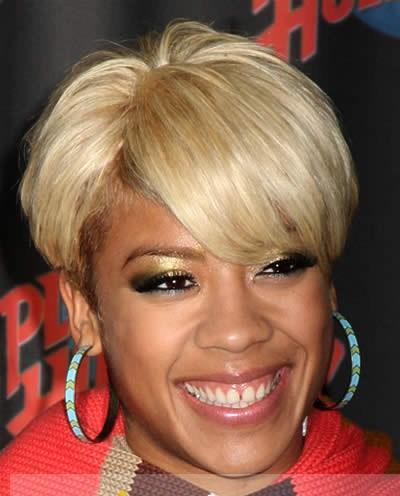 Vogue Wig Short Blonde 100% Indian Remy Hair Wigs for Black Women