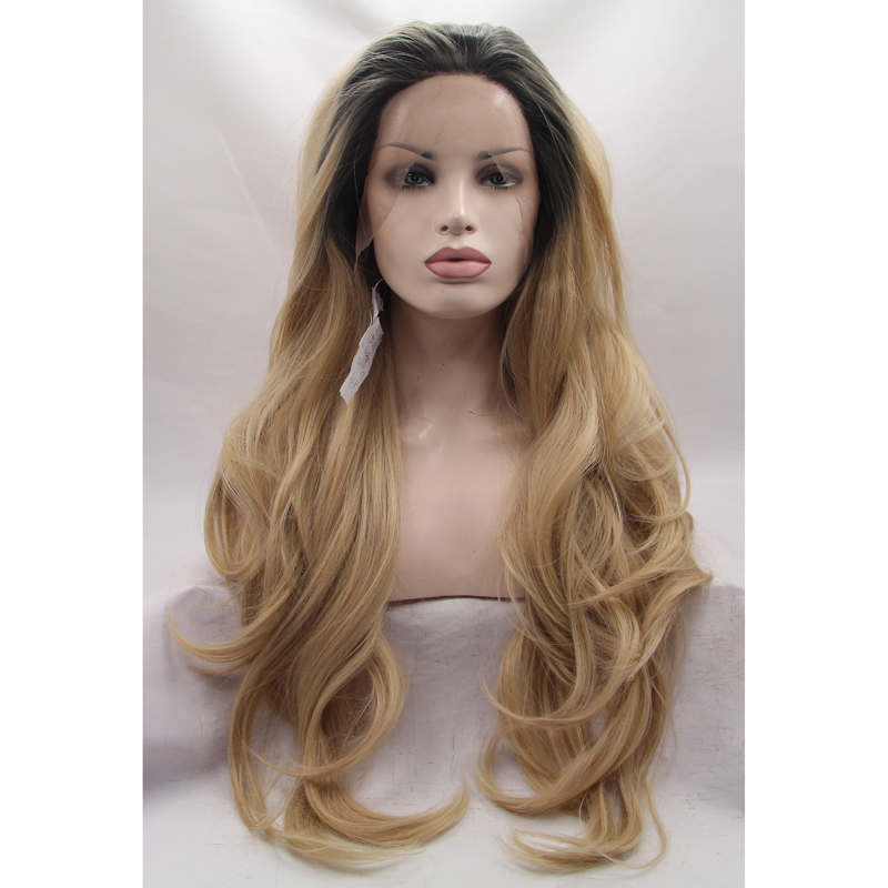Wholesale Body Wave Blonde Ombre Front Lace Wig