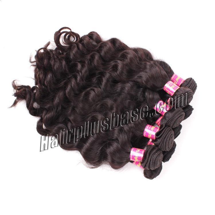 "10"" - 34"" Brazilian Virgin Hair Body Wave #1B Natural Black 10 Pcs Luxurious Lot no 1"