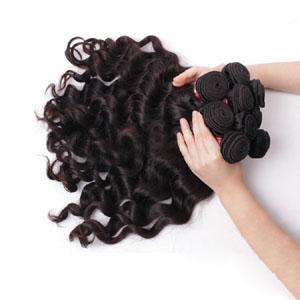 "10"" - 34"" Brazilian Virgin Hair Body Wave #1B Natural Black 10 Pcs Luxurious Lot"