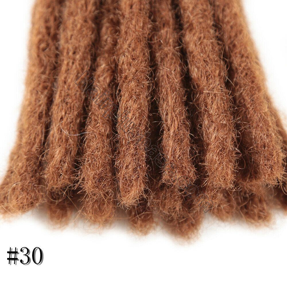 10 Inch Short Crochet Dreadlocks Synthetic Blunt Ends Braided Locs Hair Extensions 5