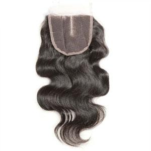 "10""-20"" 3 Part Virgin Brazilian Remy Hair Lace Top Closure(5""*5"") Body Wave"