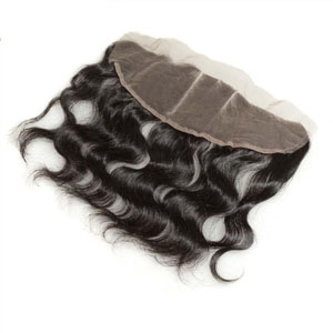 "10""-20"" Brazilian Virgin Hair Lace Front Closure Bleached Knots 13""*4"" Body Wave"
