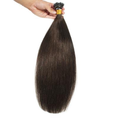 10 - 30 Inch Nano Ring Hair Extensions #2 Dark Brown 100S