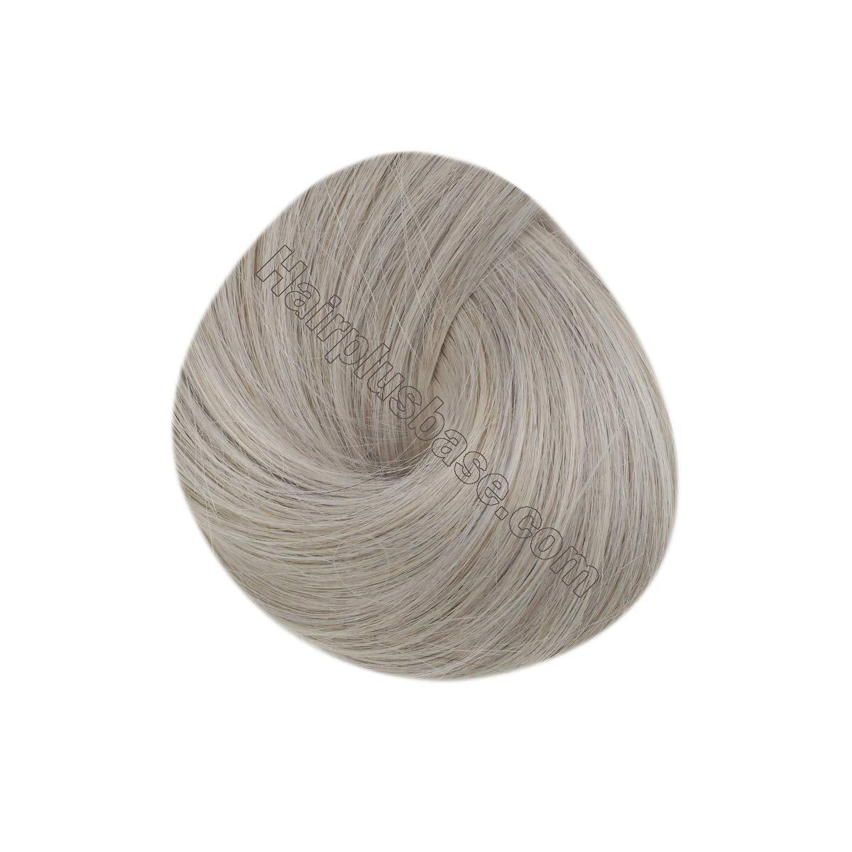 10 - 30 Inch Tape In Remy Human Hair Extensions Grey 20 Pcs 3