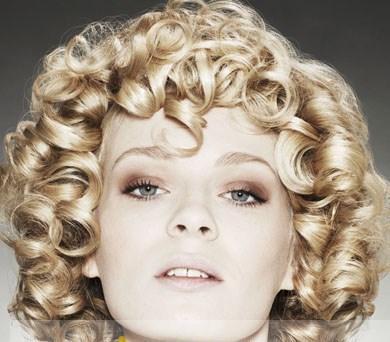 Amazing Inch Hand Tied Short Blonde Curly Chic Wig Hairstyle For Women Short Hairstyles Gunalazisus