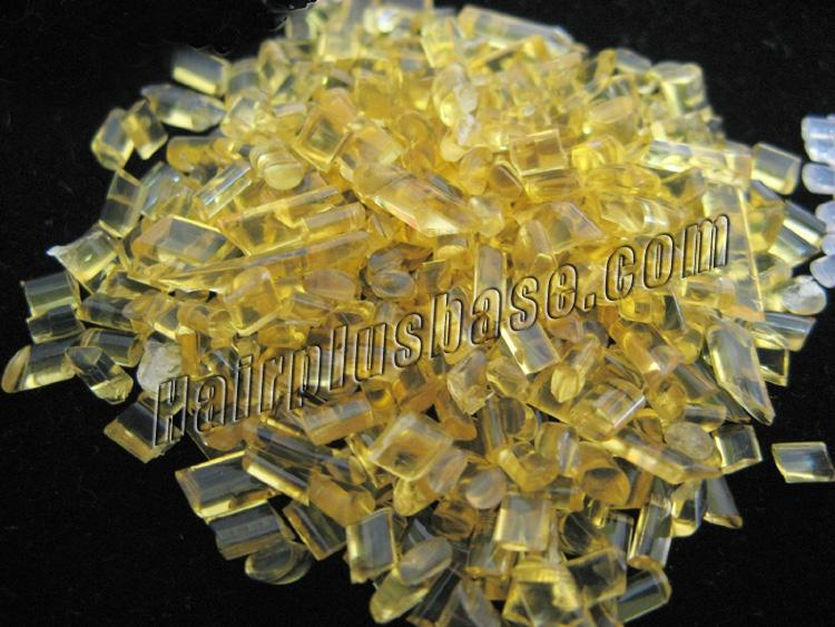 100g Yellow Clear Keratin Glue Pellets For Human Hair Extensions