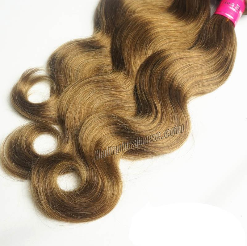 "12"" - 34"" Brazilian Remy Hair Body Wave #12 Golden Brown Hair Wefts no 1"