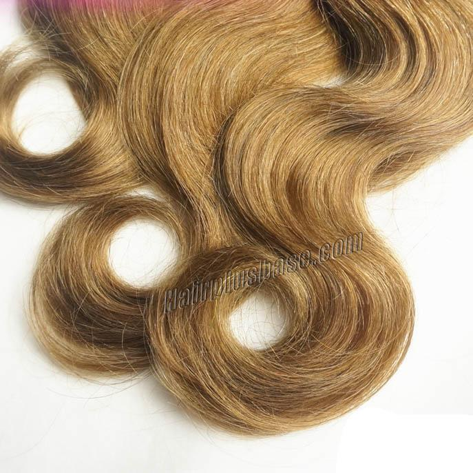 "12"" - 34"" Brazilian Remy Hair Body Wave #12 Golden Brown Hair Wefts no 2"