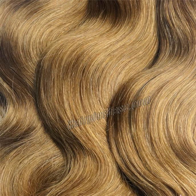 "12"" - 34"" Brazilian Remy Hair Body Wave #12 Golden Brown Hair Wefts no 3"