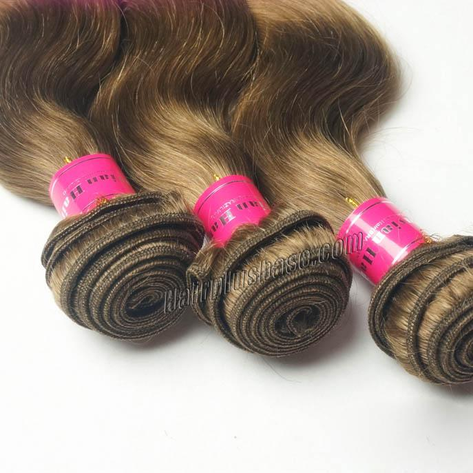 "12"" - 34"" Brazilian Remy Hair Body Wave #12 Golden Brown Hair Wefts no 4"