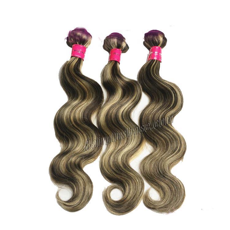 "12"" - 34"" Brazilian Remy Hair Body Wave #4/24 Weft Sets no 1"