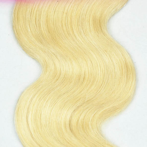 "12"" - 34"" Brazilian Remy Hair Body Wave #613 Bleach Blonde Different Hair Weft Sets no 2"