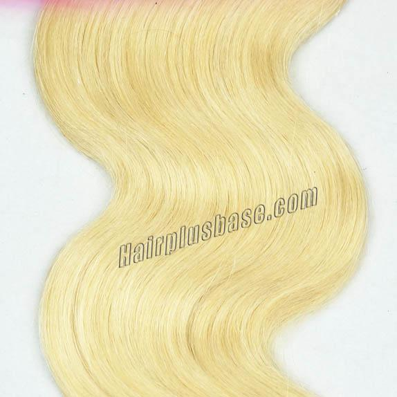 "12"" - 34"" Brazilian Remy Hair Body Wave #613 Bleach Blonde Different Hair Weft Sets no 3"