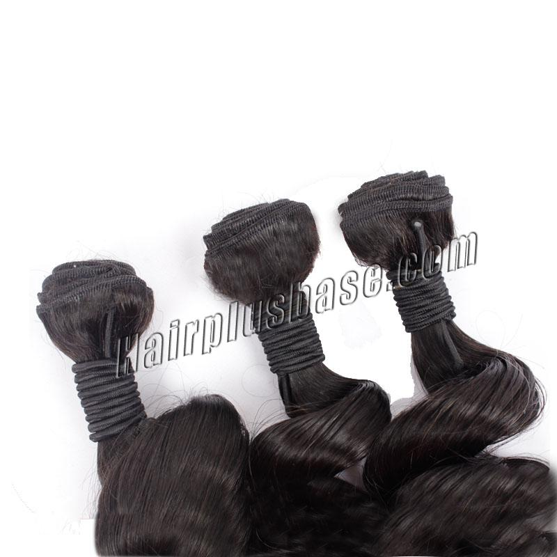 """12"""" - 34"""" Ombre Brazilian Remy Hair Spiral Aunty Funmi Hair #2 & #24 1pc/3pcs no 4"""