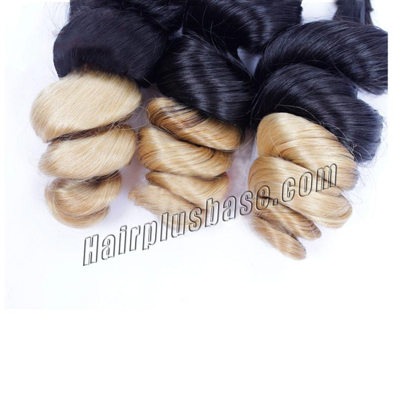 """12"""" - 34"""" Ombre Brazilian Remy Hair Spiral Aunty Funmi Hair #2 & #24 1pc/3pcs no 5"""
