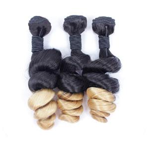 """12"""" - 34"""" Ombre Brazilian Remy Hair Spiral Aunty Funmi Hair #2 & #24 1pc/3pcs"""