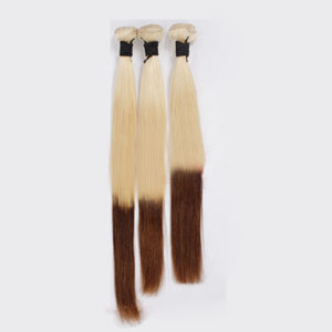 "12"" - 34"" Ombre Brazilian Remy Hair Straight Three Tone 1pc/3pcs"