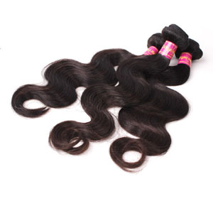 12 Inch - 34 Inch Brazilian Virgin Hair Body Wave #1B Natural Black 1pc/3pcs
