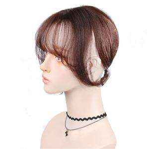 """13"""" Human Hair Crown Toppers for Women with Bangs Clip in Top Wiglet Hair Pieces for Thinning Hair"""