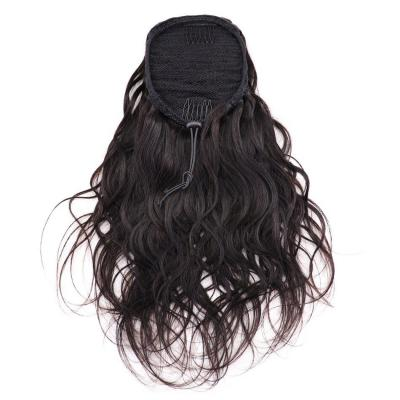 "14 - 30"" Body Wave Drawstring Ponytail Human Hair Extensions"