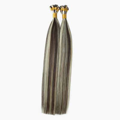 14 - 30 Hand Tied Hair Extensions Human Hair Wefts Straight 6 Bundles/Pack #2/60