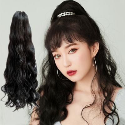 14 - 32 Inch Loose Curly Claw Ponytail Extension Human Hair