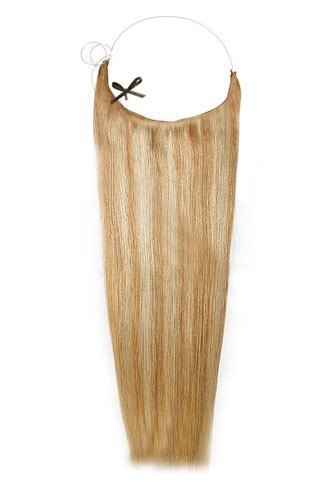 14 - 32 Inch Straight Secret Human Hair Extensions #27/613 Strawberry White Blonde 1