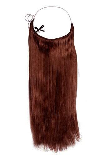 14 - 32 Inch Straight  Secret Human Hair Extensions #33 Dark Auburn 1