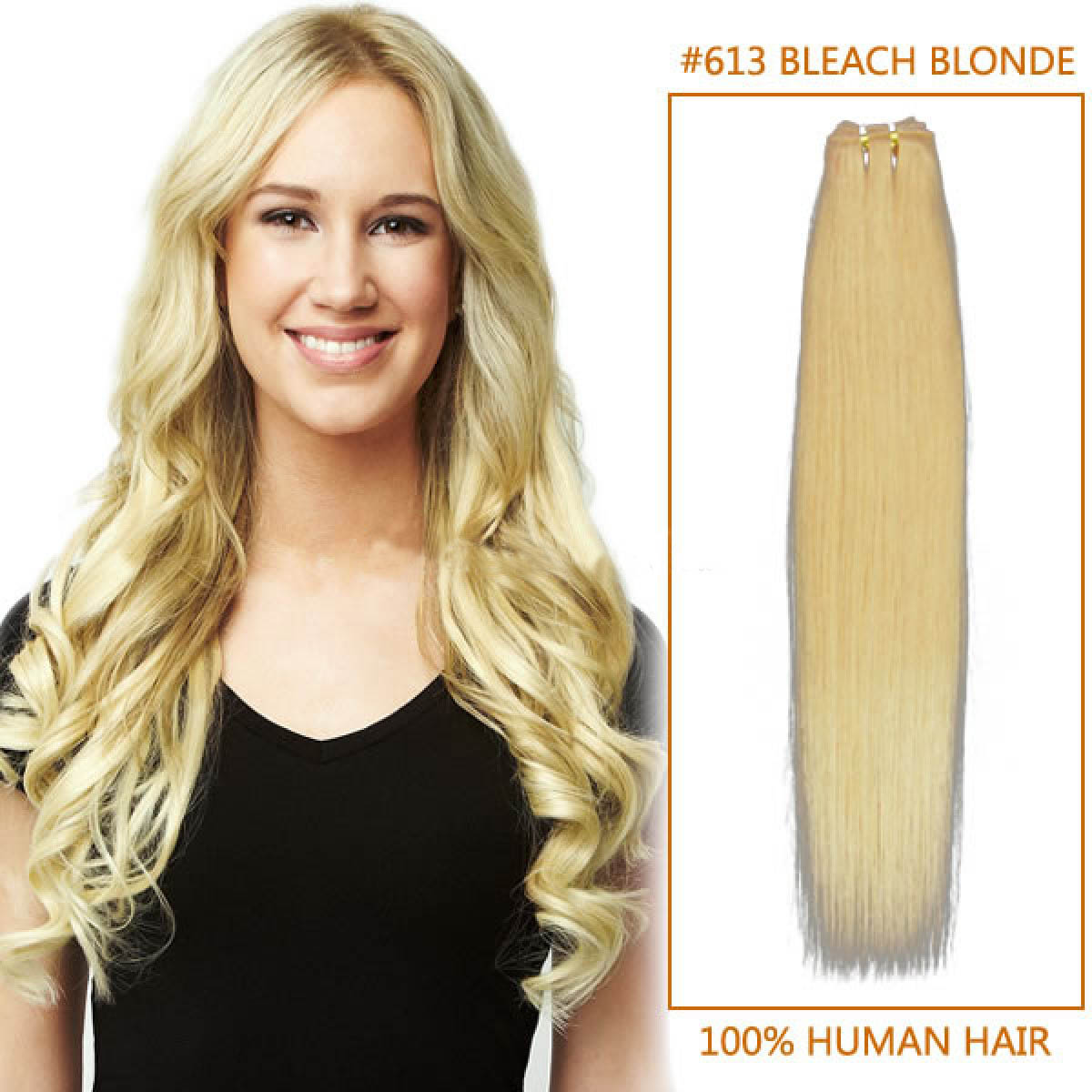 Inch613 bleach blonde straight brazilian virgin hair wefts 14 inch613 bleach blonde straight brazilian virgin hair wefts pmusecretfo Choice Image