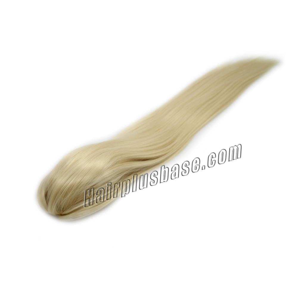 14 Inch Claw Clip Human Hair Ponytail Nice Straight #613 Bleach Blonde no 2